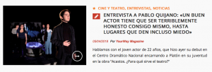 Pablo Quijano en Yourway Magazine