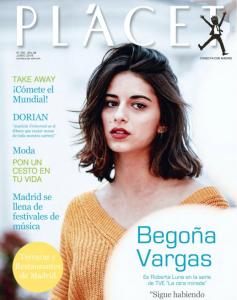 Begoña Vargas portada de PLÁCET