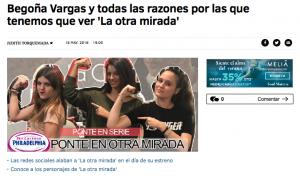 Begoña Vargas en HAPPY FM