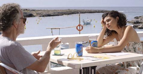 Fernando Colomo y Olivia Delcán en Isla Bonita