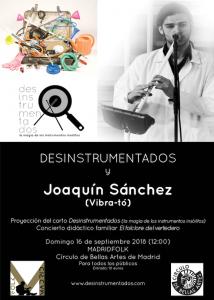 Desinstrumentados y Joaquín Sánchez - 10º MadridFolk