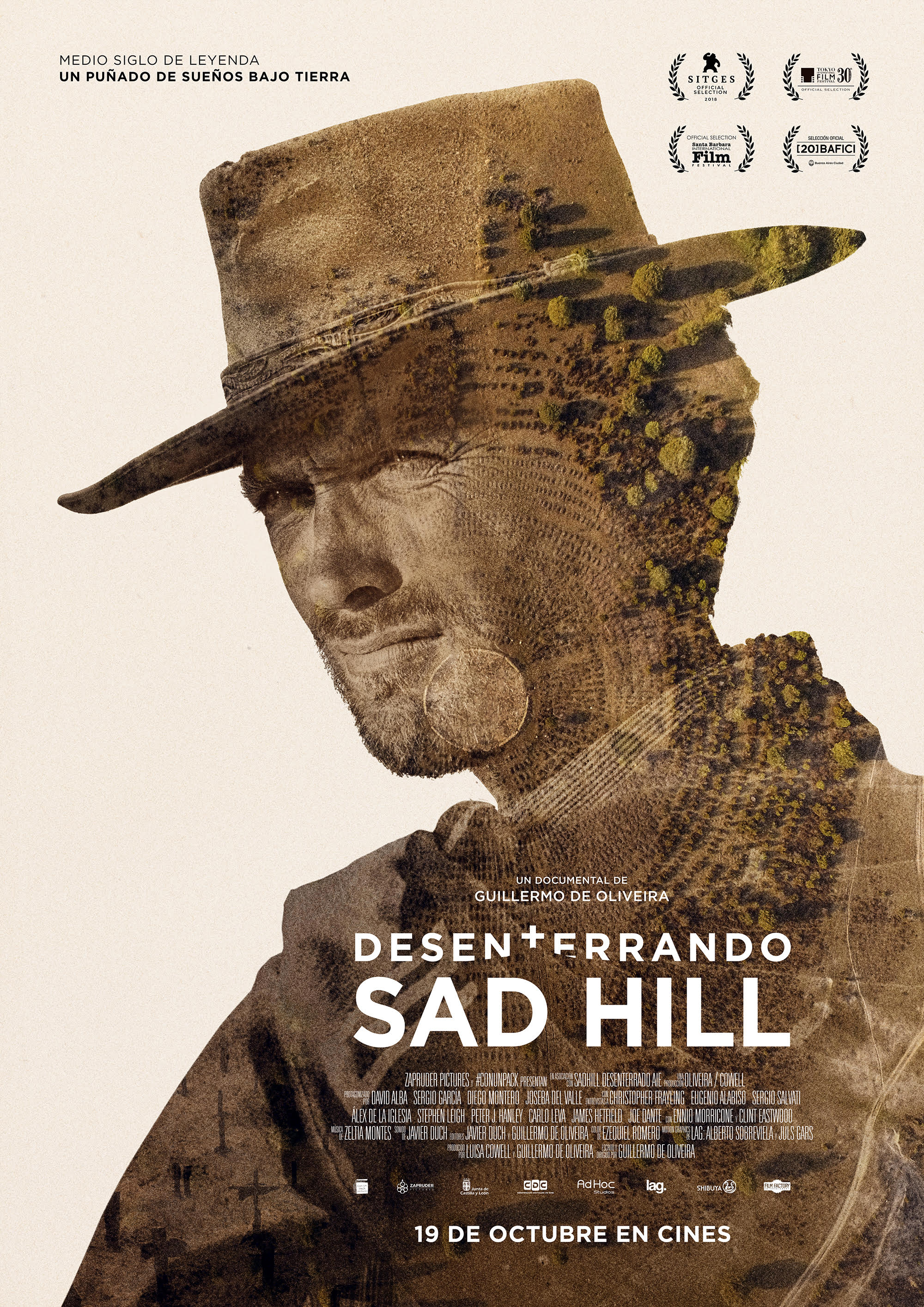 Cartel del documental Desenterrando Sad Hill