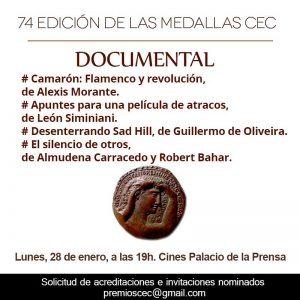 Desenterrando Sad Hill - Medallas CEC