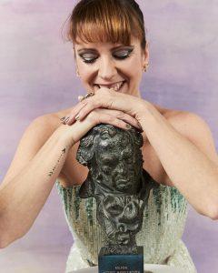 Eva Llorach, Goya a la Mejor Actriz Revelación por Quién Te Cantará