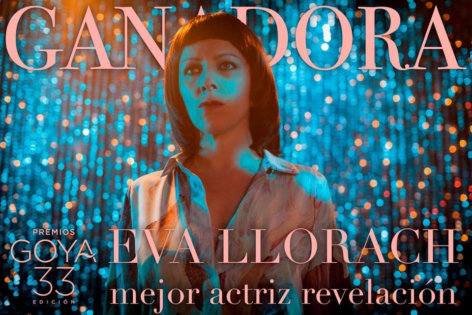 Eva Llorach, Mejor Actriz Revelación en los Premios Goya 2019